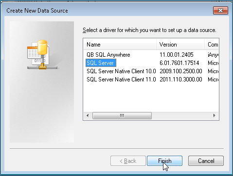 ODBC Driver for SQL Server 16 from Windows 7 client